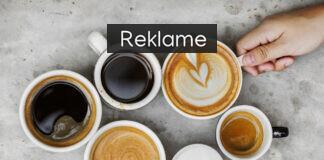 seks forskellige kopper kaffe